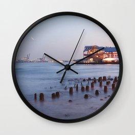 Pier 27 Wall Clock