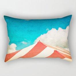 Under the Big Top Rectangular Pillow