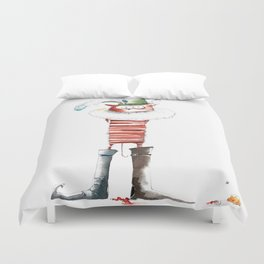 Naughty Boy Duvet Cover