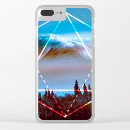 The Elements Geometric Nature Element of Air Clear iPhone Case