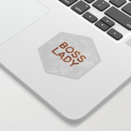 Boss Lady / 2 Sticker