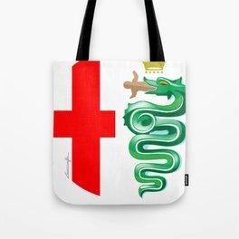 Alfa Romeo logo interpretation! Tote Bag