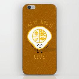 All u need is Adventure Club iPhone Skin