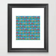 Volcanic Eruption Framed Art Print