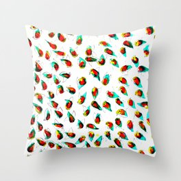 Water Birds  Throw Pillow