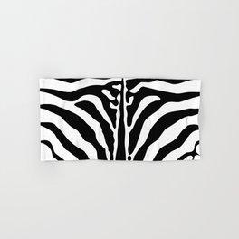 Zebra print Hand & Bath Towel