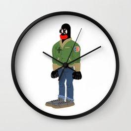 black guy Wall Clock