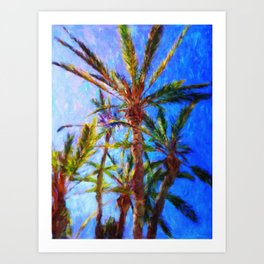 Avalon Palms - Help Fund Education for Impoverished Kids in Malawi, Africa @MoreThanAid Art Print