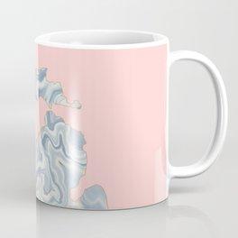Marble Michigan map Coffee Mug