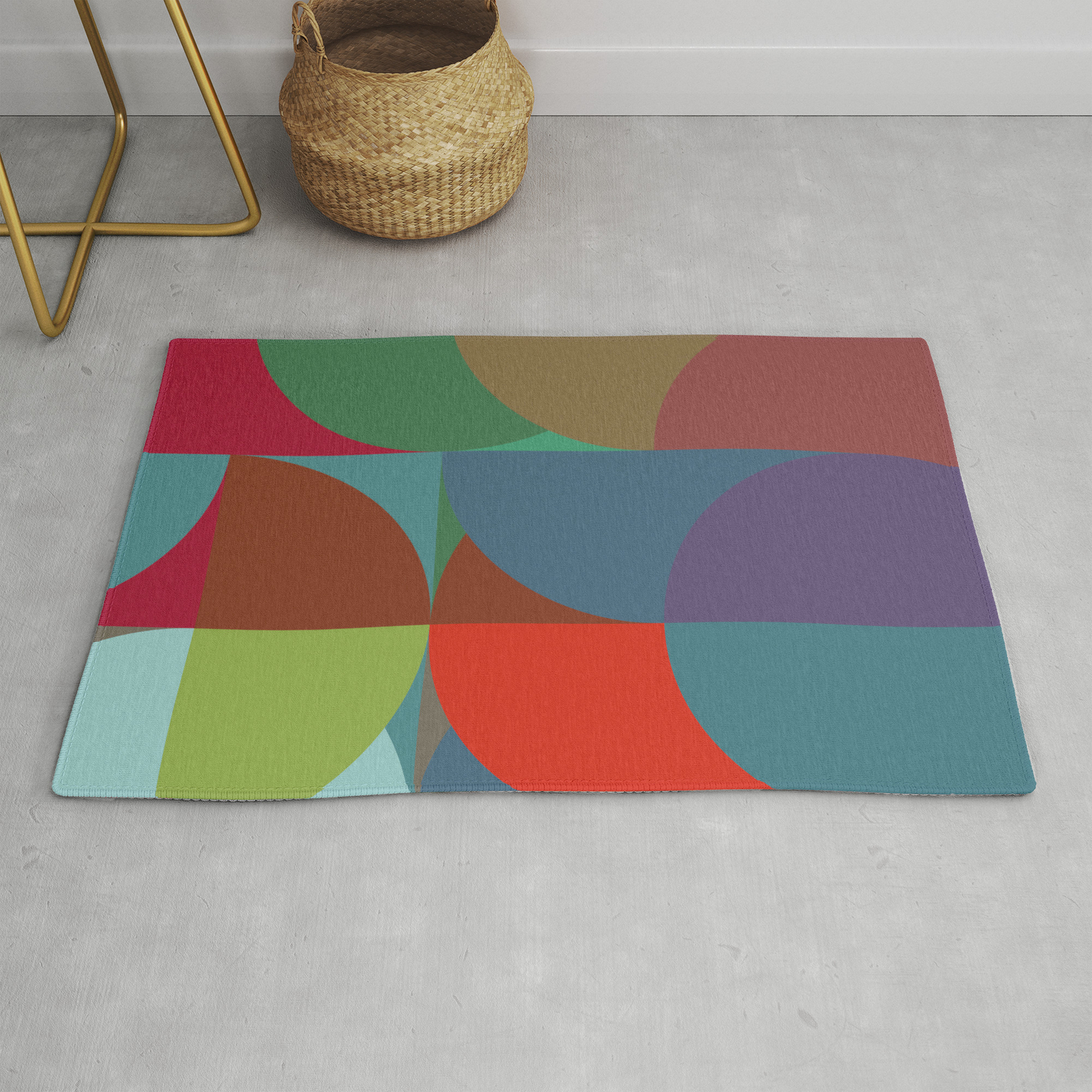 Colours Rug By Christyleigh Society6