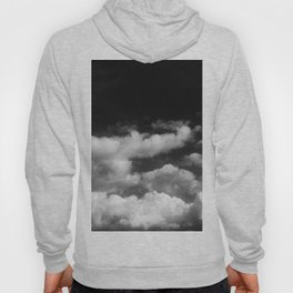 Clouds in black and white Hoody