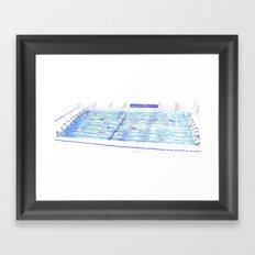 Swimming Pool 01 Framed Art Print