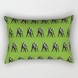 Green Dr No Rectangular Pillow
