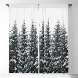 The White Bunch Blackout Curtain