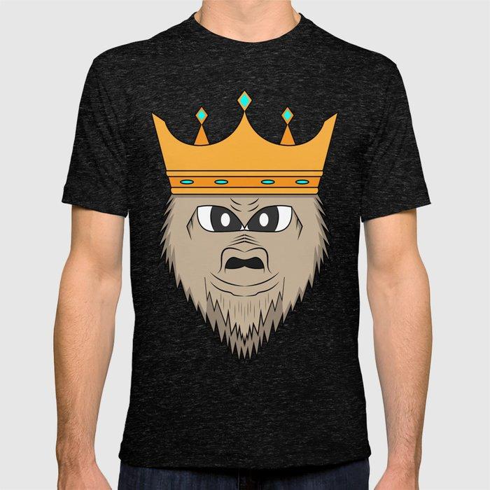 30abffa4 Gorilla king T-shirt by melcudesign   Society6