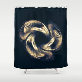Abstract Art - Rebirth Shower Curtain