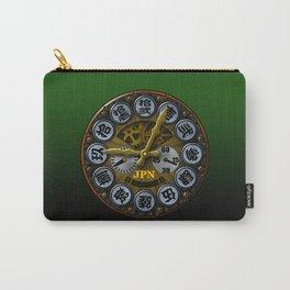 JPN clock Carry-All Pouch