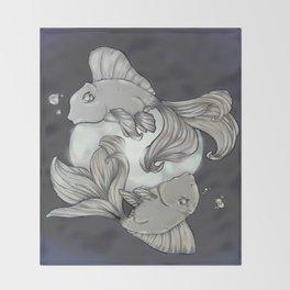 Moon Spirits Throw Blanket