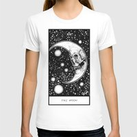 tarot T-shirts featuring Moon Tarot by Corinne Elyse