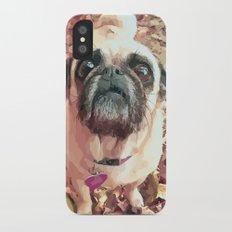 Pug Love ~ In Delilah's Eyes iPhone X Slim Case