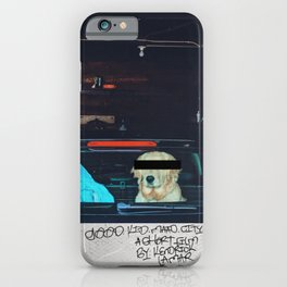 Good Boy M.A.A.D City iPhone Case
