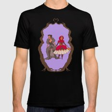 Little Red Riding Hijabi 2X-LARGE Mens Fitted Tee Black