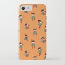 Hula dancers iPhone Case