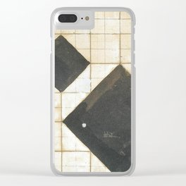 Theo van Doesburg - Study for Arithmetic Composition - Abstract De Stijl Painting Clear iPhone Case