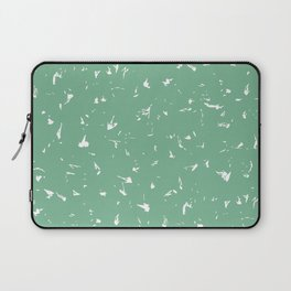 Acapulco Mint Green Splatter Spots Laptop Sleeve
