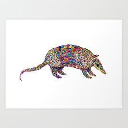 armadillo Art Print