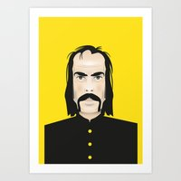 nick cave Art Prints featuring Nick cave by Matteo Lotti