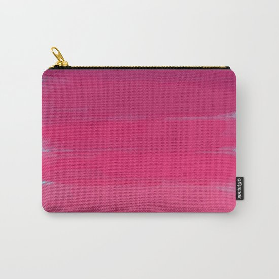 Lipstick: Shades of Pink Gradient Color Study Carry-All Pouch