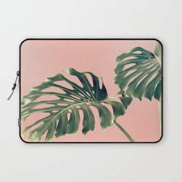Monstera Blush Laptop Sleeve