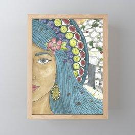Martha of Bethany Framed Mini Art Print