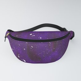 Purple Stars Fanny Pack