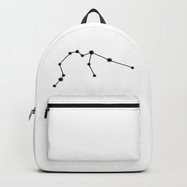Aquarius Astrology Star Sign Minimal Backpack