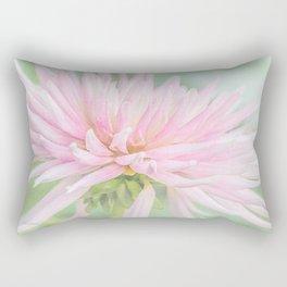 Pink Princess Dahlia Rectangular Pillow