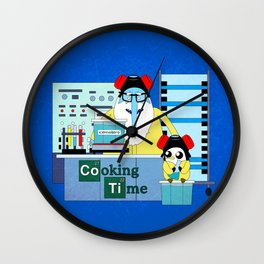 Icekingberg (AdventureTime+BreakingBad) Wall Clock