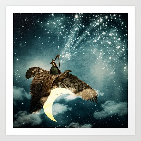 The Night Goddess Art Print