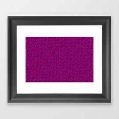 Control Your Game - Tradewinds Fuschia Framed Art Print