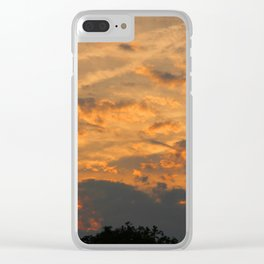 Sunset Over Seneca Lake Clear iPhone Case