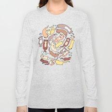 Adorable Otter Swirl Long Sleeve T-shirt