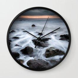 Storm Flow Wall Clock