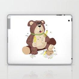 Greedy bear Laptop & iPad Skin