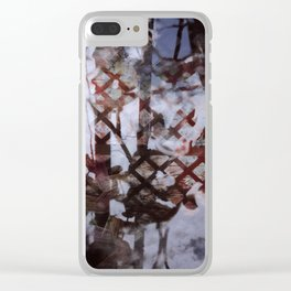 002 Textura Clear iPhone Case