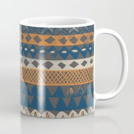 Hand-Painted Ethnic Pattern Coffee Mug