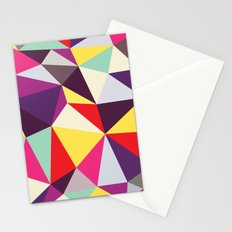 Disco Tris Stationery Cards