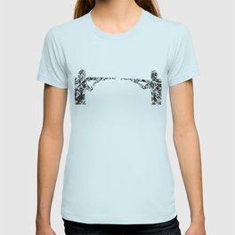 Gun fight T-shirt