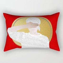 LESSER MATTERS (Strange Things Will Happen) Rectangular Pillow