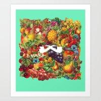 Fruta de Vida. Art Print